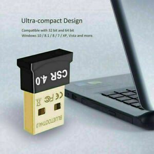 Bluetooth 4.0 USB 2.0 CSR 4.0 Mini Adapter Dongle Wireless Receiver For Computer