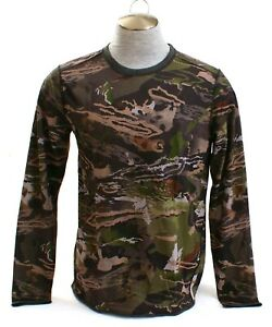 Under Armour ColdGear Reversible Wool Blend Hunting Base Crew Shirt Men's NWT $74.99