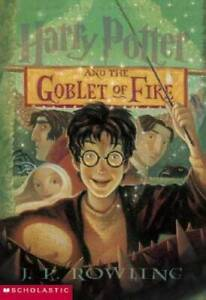 Harry Potter And The Goblet Of Fire Paperback By Rowling J.K. GOOD