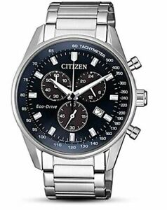 Citizen Eco Drive Men's Global Collection Chronograph 42mm Watch AT2390 74L