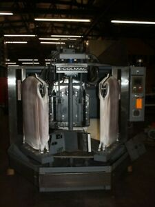 Colmac 3-cpu.  Triple-Buck shirt press machine,