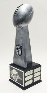 FANTASY FOOTBALL TROPHY 19quot; 18 YEAR LOMBARDI FREE ENGRAVING SHIPS IN 1 DAY