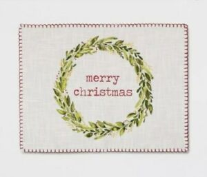Threshold Target Holiday Merry Christmas Placemats 4 Count