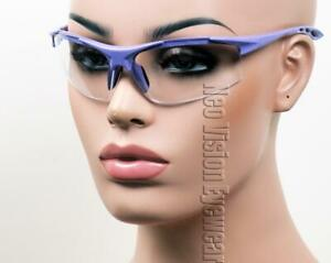 ERB Ella Purple Clear Lens Safety Glasses Womens Motorcycle Z87 $10.54