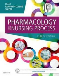Pharmacology and the Nursing Process 8e Paperback GOOD
