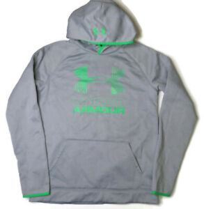 Under Armour Hoodie YXL Gray Loose Coldgear Storm Youth XL $14.99