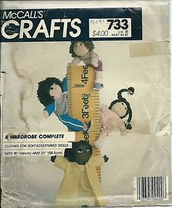 M 9091 sewing pattern Cabbage Patch Kid DOLL CLOTHES sew 18quot; amp; 23quot; cute Clothing