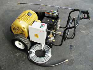 Mi-T-M CW Pressure Washer Electric CW-4004-1ME3 15HP 4000PSI 3 PHASE