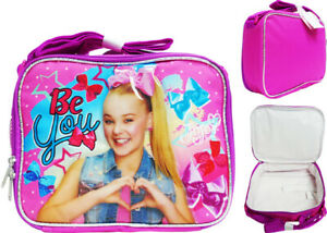 JOJO SIWA Fully Insulated Lunch Bag Soft Kids Lunch Kit