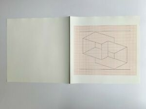 Rare unpublished Joseph Albers lithograph