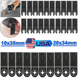10x35mm/20x34mm Saw Blades Cutter for Fein Bosch Makita Oscillating Multi Tool