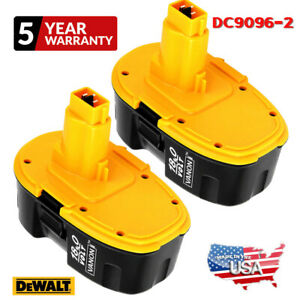 2X Upgraded DC9096 2 For DeWALT DC9096 18 Volt XRP Battery DW9098 DC9099 DW9095