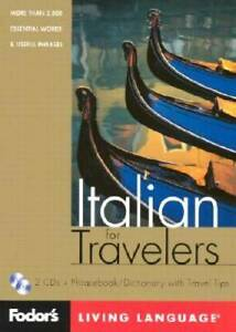 Fodor#x27;s Italian for Travelers 1st edition CD Package : More than 3 VERY GOOD