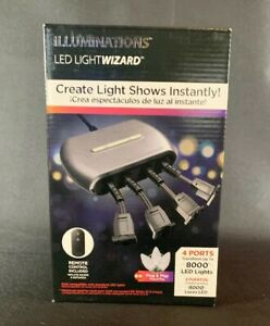 Illuminations LED Light Wizard ~ Connect Up to 8000 LED Lights ~ 10 Light Shows