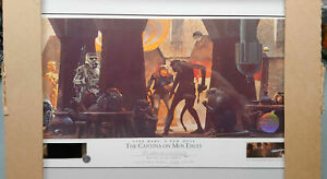 STAR WARS - Ralph McQuarrie signed Lithograph - The Cantina at Mos Eisley