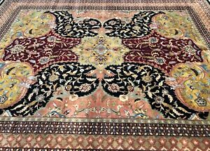 High Quality Handmade Palace Rug 12x15ft. 100% Wool Serapi Design Natural Dyes