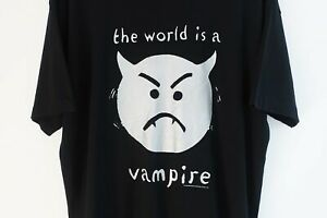 Vintage 1996 Smashing Pumpkins The World Is A Vampire 1996 Tour Shirt Size XL