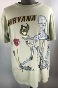 Nirvana Incesticide Vintage 1993 Shirt XL Original Not Reproduction USA Tag Rare