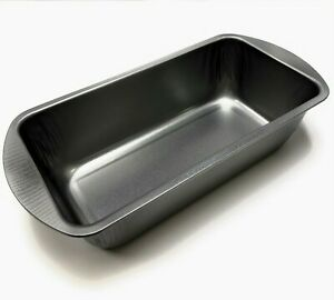 Non Stick Heavy Duty Metal Meat Loaf Tray Oven Baking Bread Pan