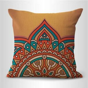 throw cushions retro boho mandala yoga meditation cushion cover