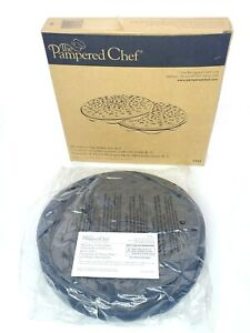 Pampered Chef Chip Maker Microwave Box Set New In Box Instructions Recipes