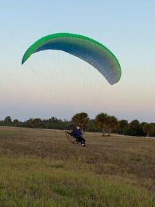 Paraglider wing Apco Lift EZ size Small very good condition for paramotor ppg