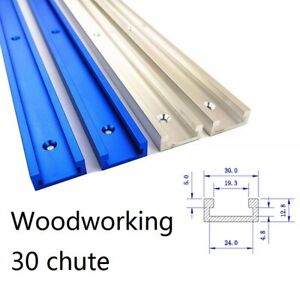 1000mm Aluminium T Track T Slot Miter Jig Fixture Tool Woodworker Router Table $22.79