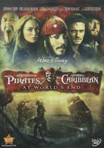 Pirates of the Caribbean: At Worlds End DVD VERY GOOD $3.49