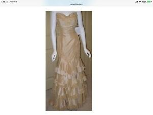 NWT SAGAIE Designer Evening Formal Dress Large $989 More Photos In Description