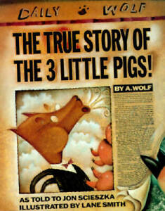 The True Story of the 3 Little Pigs Hardcover By Scieszka Jon GOOD $3.69