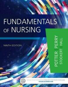 Fundamentals of Nursing 9e Hardcover GOOD