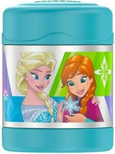 *NEW* Thermos Disney Frozen Funtainer Stainless Steel Hot Cold Food Jar 10oz