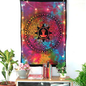 Indian Bohemian Mandala Poster Tapestry Yoga Meditation Wall Decor Tapestries