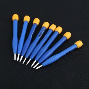 8pcs Adjust Frequency Screwdriver Anti static Ceramic Set Home Hand Tools
