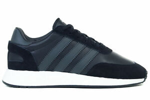 Adidas Originals I-5923 INIKI Leather Shoes Black Casual Sneakers BD7798