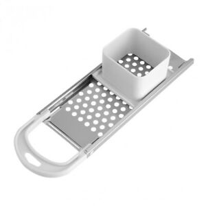 1pc Kitchen Spaetzle Maker for Long Noodles, Grater with Slicer, Stainless Steel
