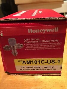 Honeywell AM101C-US-1 100 to 145 Mixing Valve 34 Solder Unions