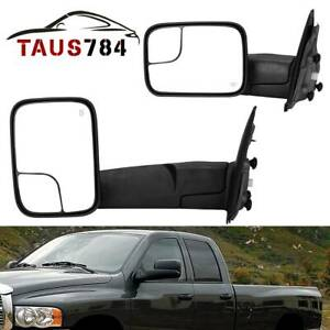 Power Tow Driver Side Mirror Heated For 03 09 2500 3500 02 08 Dodge Ram 1500