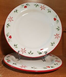 Target Home Holiday Dinner plate set of 2, 11 1/2