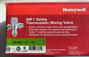Honeywell AM101C-US-1LF 70 to 120 Mixing Valve 34 Solder Unions Free Shipping