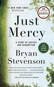 Just Mercy: A Story of Justice and Redemption Paperback GOOD $4.19