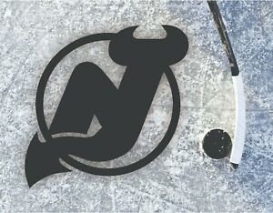 New Jersey Devils Metal Wall Hanging