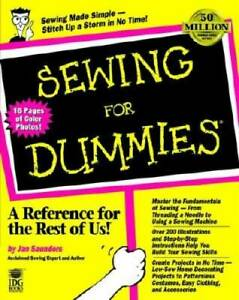 Sewing For Dummies Paperback By Saunders Maresh Jan VERY GOOD $6.29