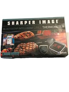 Sharper Image Bluetooth Smartphone Grill Thermometer iOS / Android
