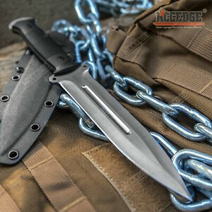 12quot; Full Tang Knife 6.5quot; Blade 8cr13MOV Stainless Steel w Kydex amp; G10