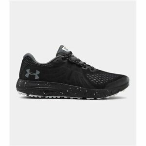Men's Under Armour UA Charged Bandit Trail Running Shoes Black Gray 3021951 001 $69.88
