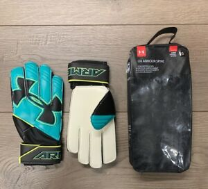 Under Armour Boys Youth Armour Spine Goal Keeper Gloves SIZE 6 FREE SHIPPING H $19.96