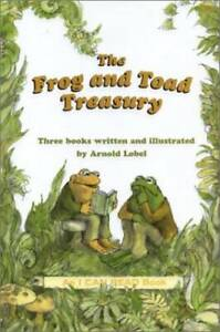 The Frog and Toad Treasury Hardcover By Lobel Arnold GOOD