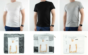Calvin Klein T Shirt Mens 3 Pack Crew Neck Classic Fit Undershirt $22.99