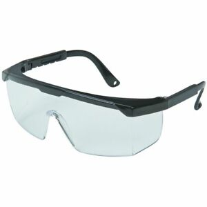 3 THREE WESTERN SAFETY CLEAR LENS WRAPAROUND SAFETY GLASSES NEW $21.99